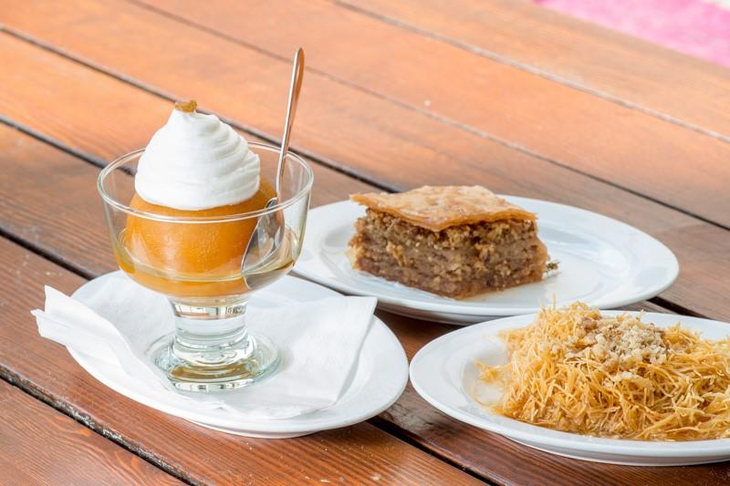 kadaif  Traditional Bosnian Desserts kadaif